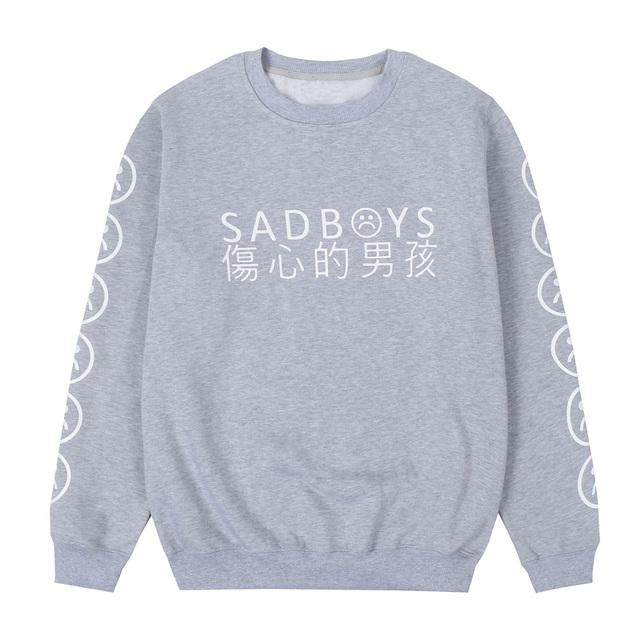 Yung Lean Sad Boys Hoodie Men Cotton Yung Lean Unknown Death Sweatshirt Casual Fleece Lil Peep Hoodies Men Women Streetwear Hood