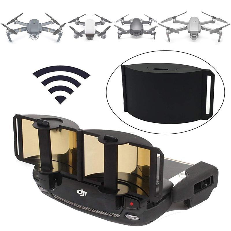 Mavic Mini / Mivic 2 Pro/ /Mavic Pro/ Mavic Air / Spark Controller Signal Booster Range Extender Foldable Parabolic Antenna