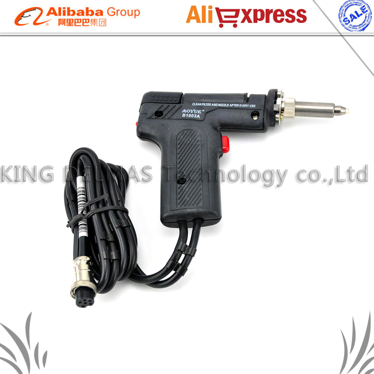 AOYUE Vacuum Desoldering Pump B1003A Solder Sucker Gun Desoldering Gun Accessories FOR AOYUE 2702A+/2703A+ цены