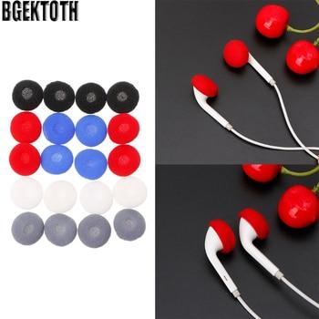 BGEKTOTH 10 Pairs Sponge Ear Pad Cover Foam Earcap Replacement For Headphone Earphone