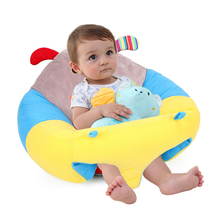 Babelemi Cartoon Animals Infant Baby Kids Sitting Support Play Plush Toys Sofa Chair Seat Nest