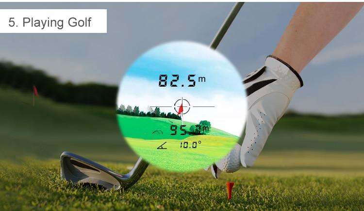 Entfernungsmesser Golf Laser Rangefinder Für Jagd Weiss 600 Meter : Mileseey mt laser entfernungsmesser für jagd und golf