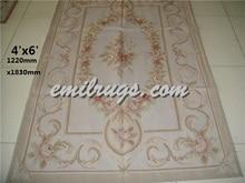 Karpet Karpet Kamar Tidur 2016 Real Tapete untuk Sala Tapetes Handmade Karpet Wol Mewah untuk Rumah Living Room Bahasa Perancis Aubusson Karpet
