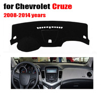 Left Hand Drives Car Dashboard Covers For Chevrolet Cruze 2008 To 2014 Years Auto Dash Pad