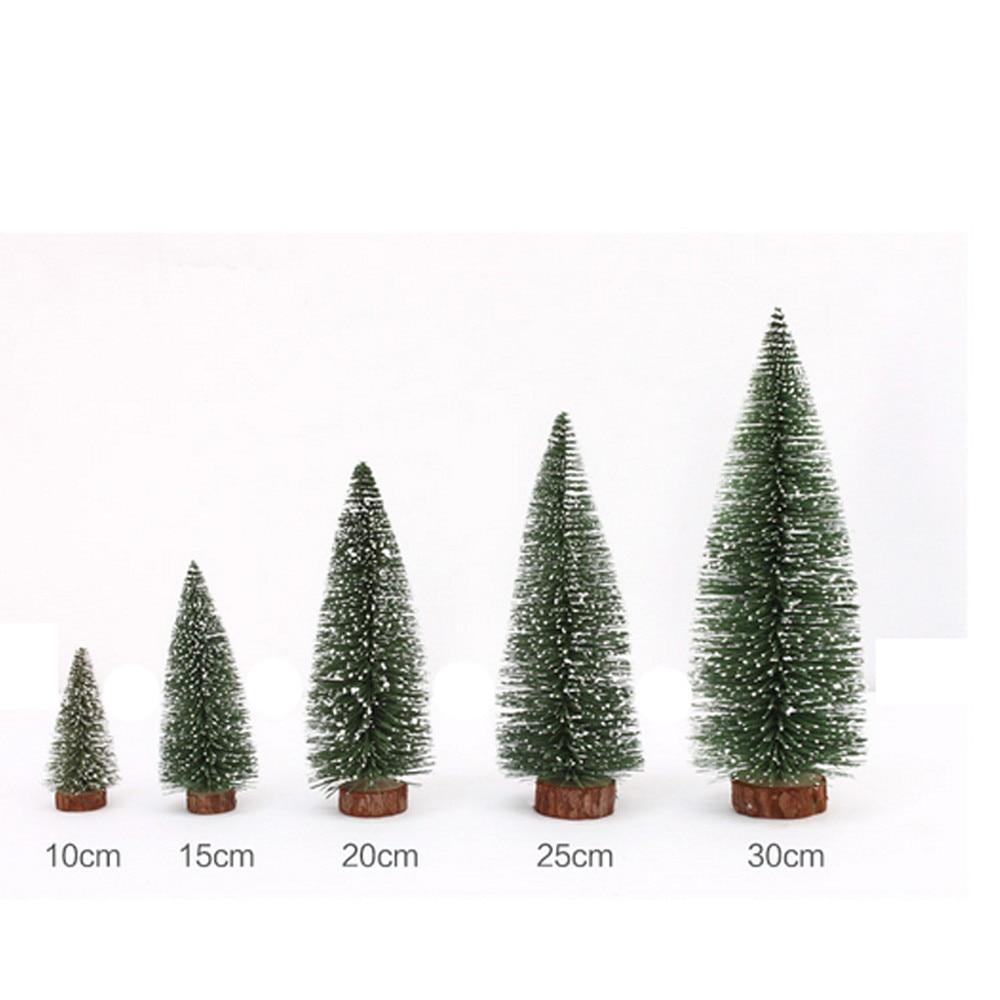 Mini Christmas Tree Stick White