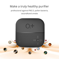 Auto Air Purifier 12V Negative Ions Air Cleaner Ionizer Humidifier Air Purifier Aroma Diffuser Auto Mist Maker PM 2.5 Eliminator