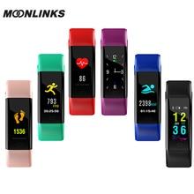Moonlinks F07plus smartband ip68 kadın saatler dijital akıllı bilezik kan basıncı reloj inteligente pulsometro ritmo cardiaco