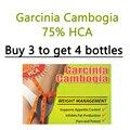1 Botellas, Pure garcinia suplemento, extractos puros garcinia cambogia cápsulas para adelgazar dieta de té 1 bolsas de forma gratuita