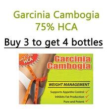 1 Bottles, Pure garcinia supplement, pure extracts garcinia cambogia capsules slimming tea 1 bag for free diet