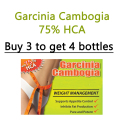 1 Bottles,  Pure  garcinia supplement, pure extracts garcinia cambogia capsules slimming tea 1 bag for free diet