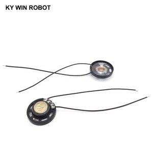 Image 5 - 2 ピース/ロット新超薄型おもちゃの車ホーン 8 オーム 0.25 ワット 0.25 ワット 8R スピーカー直径 27 ミリメートル 2.7 センチとワイヤー