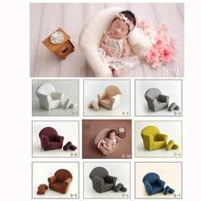 Ребенок позирует диван набор подушек украшение стула аксессуары для детской фотосъемки младенческой студии съемки реквизит новорожденного фотографии реквизит