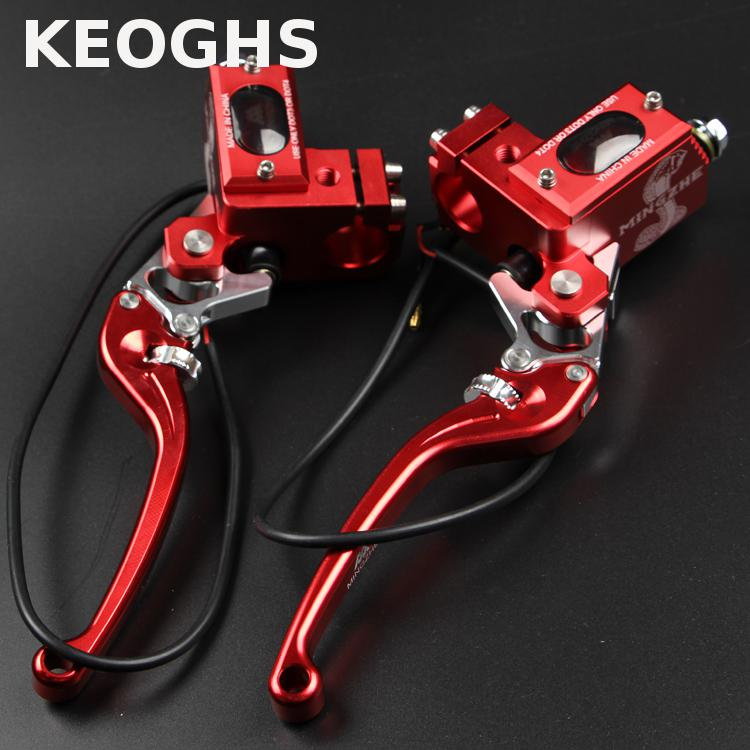 Keoghs Motorcycle 22mm Brake Master Cylinder High Quality Cnc Aluminum 13mm Piston Size For Yamaha Scooter Honda Kawasaki Suzuki keoghs motorcycle high quality personality swingarm swinging arm rear fork all cnc for yamaha scooter bws cygnus honda modify