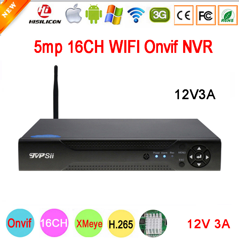 5mp/4mp/3mp/2mp/1mp IP Camera Hi3536D XMeye 1CH RCA Audio output H.265 5mp 16CH 16 Channel Onvif IP WIFI CCTV NVR Free Shipping цены