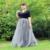 100% Fotos Reales! 7 Capas Largo Maxi Faldas de Las Mujeres de Las Señoras Ropa Americana Falda de Tul Balón Vestido De Boda Vestido Jupe Faldas Saia
