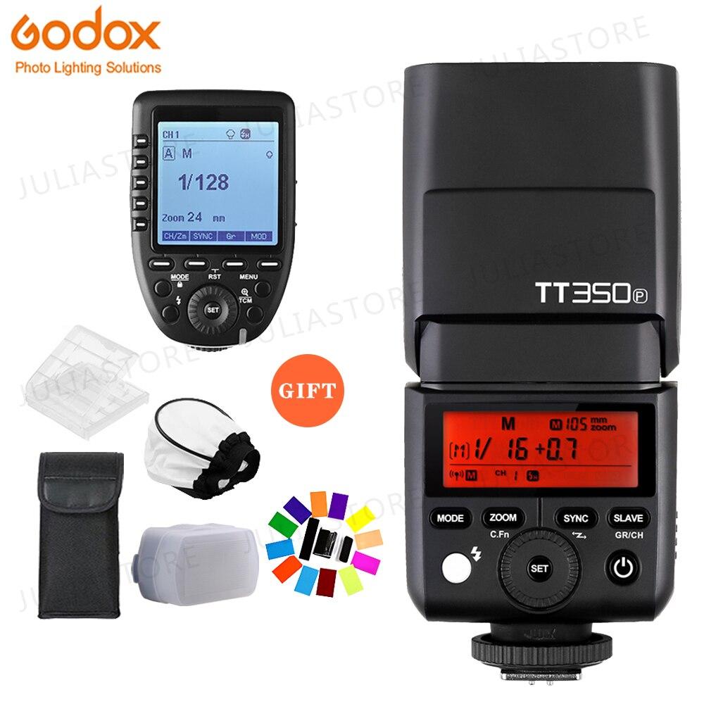 GODOX Mini TT350P TT350 TTL HSS 2.4 GHz Flash Sans Fil XPro-P Déclencheur pour Pentax 645Z K-3II K-1 KP K-50 K-S2 K70 Caméra