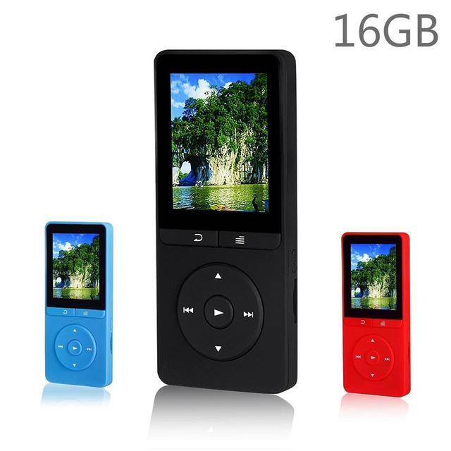 2017 Últimas 16 GB Reproductor de MP3 De Alta Calidad Original RUIZU X20 con 1.8 Pulgadas de Pantalla Puede Jugar 80 horas Con FM E-Book Reloj datos