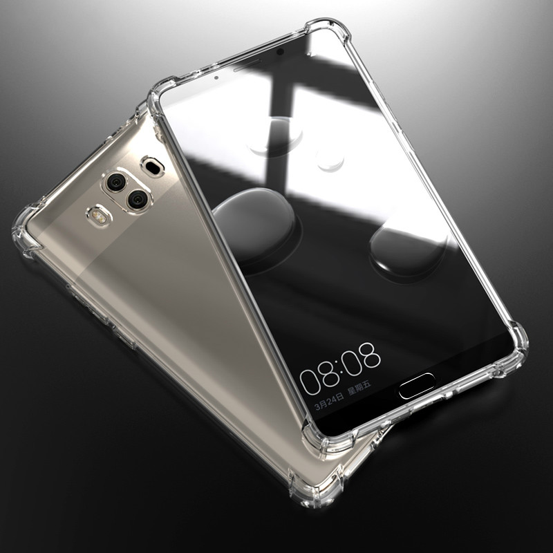 For Huawei P smart 2019 Mate 9 10 20 P10 P20 P30 Pro Honor 8X 9X 10 Lite case clear luxury Silicone Cover Protective funda cases