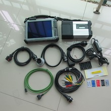 2017 newest mb star c5 sd connect with 2017.07 latest software ssd with tablet xplore ix104 i7 4g diagnostic laptop ready to use
