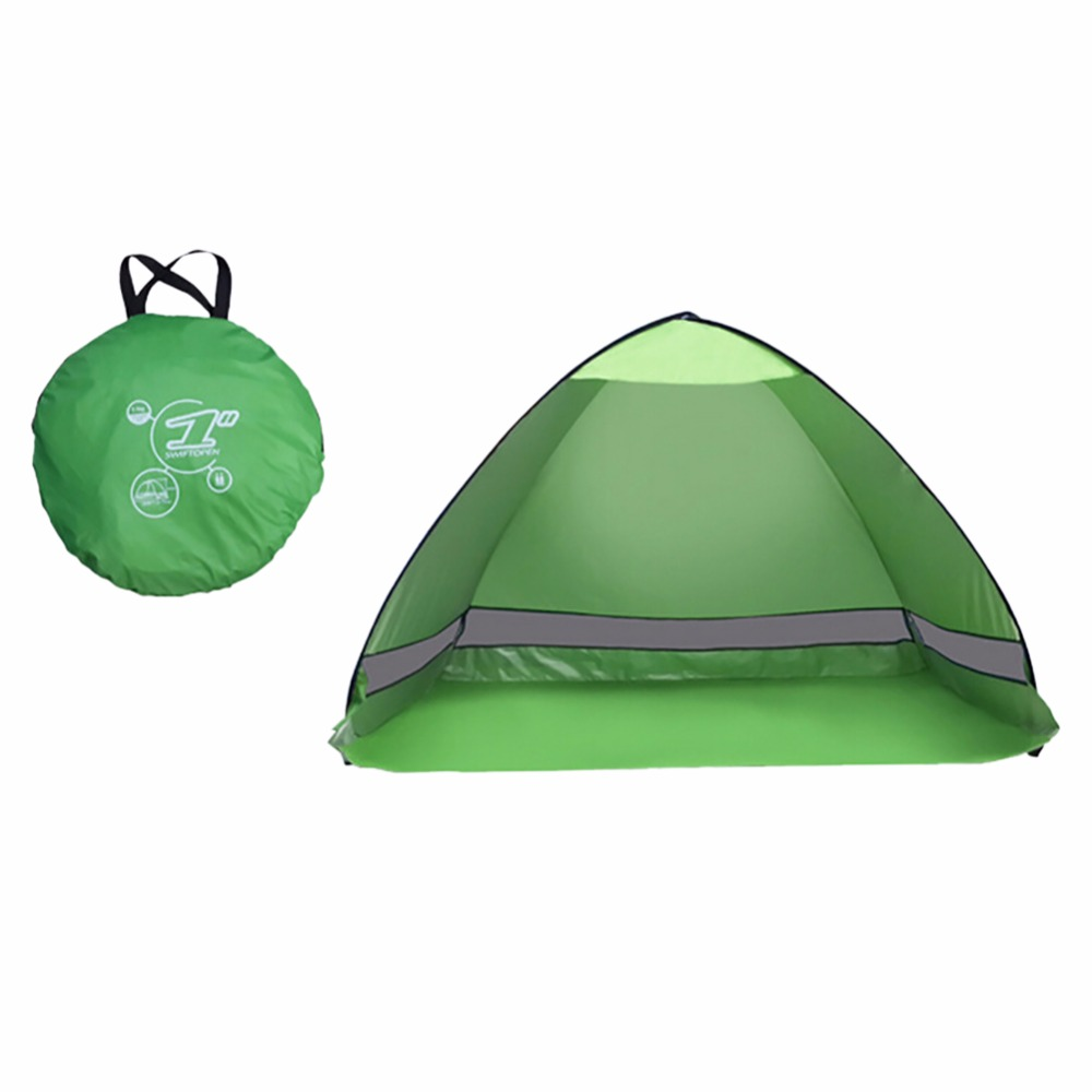 New Outdoor Camping Tent hiking beach Summer Tent UV Protection Fully Automatic Sun Shade Portable Pop Up Beach Tent 1x 200 200 160cm summer outdoor camping sun shelter uv protection beach shade fishing tent portable roof tent for swimming boat