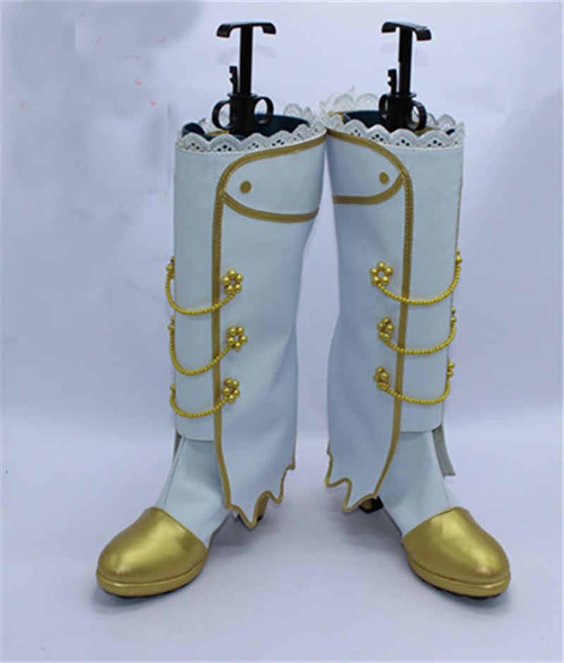 Love Live! Eli Ayase Ellie Kousaka Honoka Minami Kotori Sonoda Umi Cosplay Wedding White Shoes