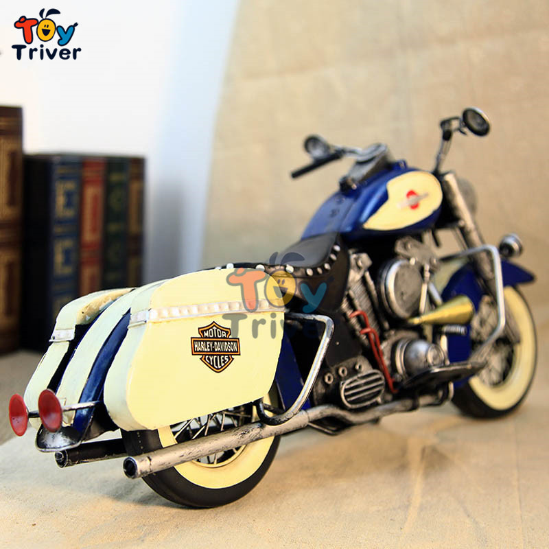 Home Office shop Decor handmade vintage craft iron Harley motocycle car model boyfriend Valentine's gift toy nostalgia xing ting animation 5 inch pokemon q version leafeon feature plush toy home office decor