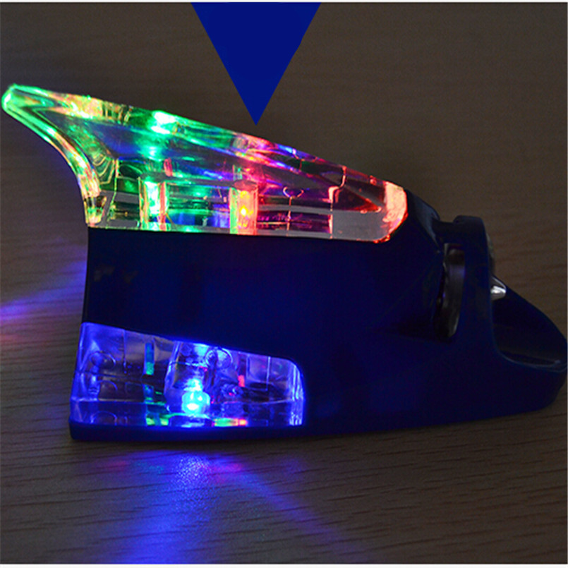 Car Styling Antenna Led Warning Lights Case Fit For Toyota