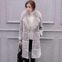 Winter Many Color Fleece Coat With Lined Women Winter Suede Fur Coat