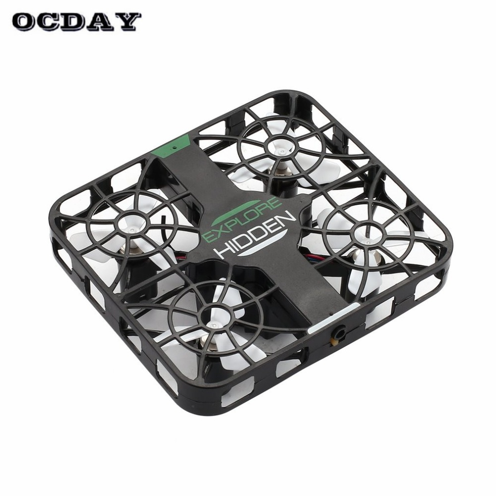 QS003 2.4Ghz <font><b>Mini</b></font> RC Quadcopter <font><b>Drone</b></font> Aircraft UAV with 0.3MP Wifi <font><b>FPV</b></font> Camera Altitude Hold Crashworthy Structure 3D Flip <font><b>Drone</b></font> image