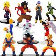 Dragon Ball Z Figurine Vegeta Trunks Goku Son Gohan Cell Frieza Lunchi Dragonball Action Figures Collectible Toy 11 21cm