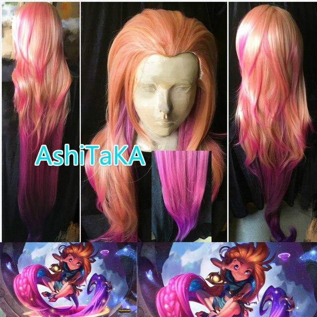 150cm lol zoe aspect of twilight orange pink purple mixed colors
