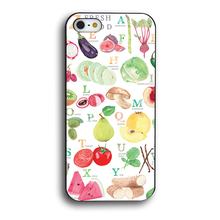 Fresh food (fruit & vegetables) phone case for iPhone 4 4S 5 5S SE 6 6S 6Plus 6SPlus