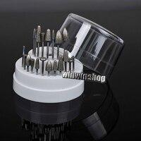 20 Pcs Dental Lab Assorted Diamond Burs Millers Tooth Drill Jewelers 2 35mm NEW 1pc 60