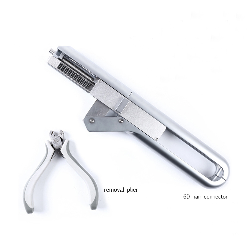 6D high end connection technology machine in hair salon Tool No-trace Hair Extension Machine High quality Connector Keratin Hair цена