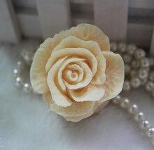 Силиконовые формы мыло Ручной Работы плесень пищевых формы красивая роза форма форма
