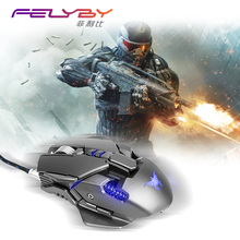 FELYBY Brand high-quality wired mouse professional gaming mouse computer mouse mice  eating chicken gaming mouse