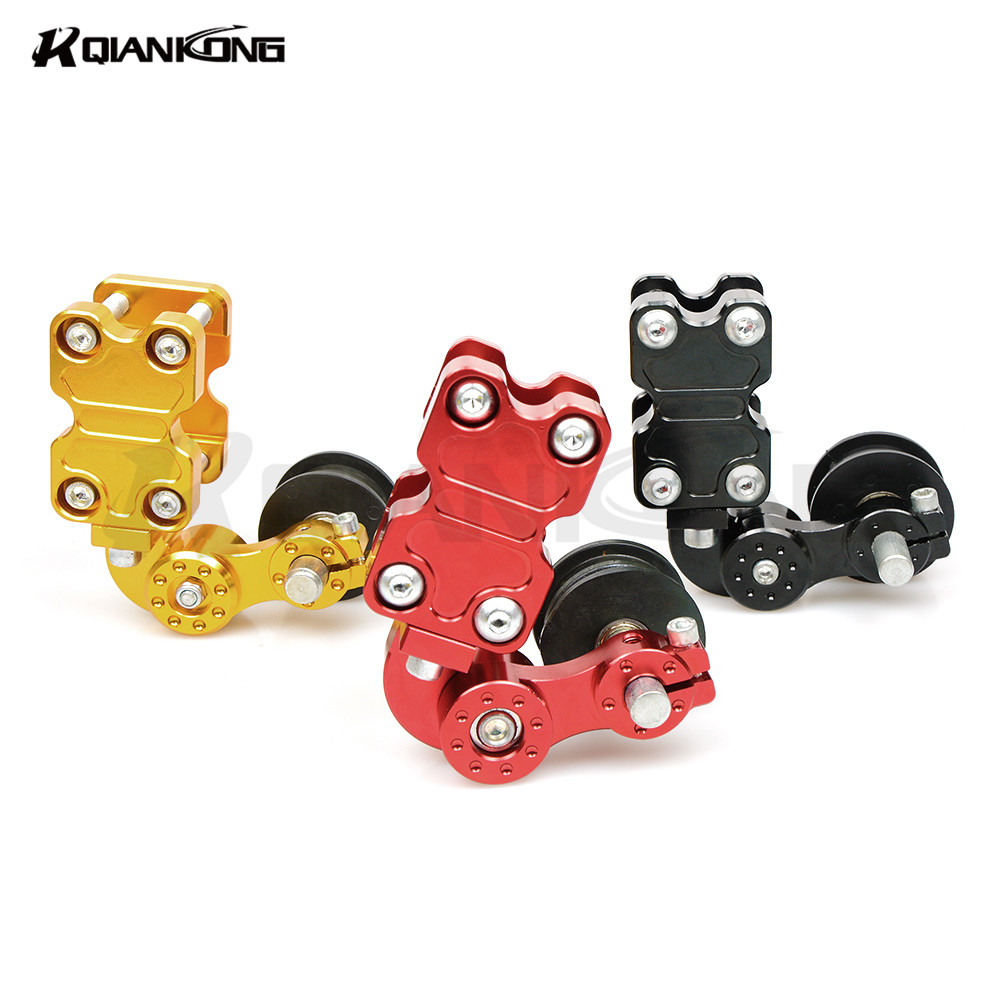 NEW Motorcycle refires pieces motorcycle chain auto tensioner chain tensioner Aluminum FOR KAWASAKI Z750 Z1000 ZZR600 ZRX1100