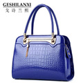 GESHILANXI chain bags women famous brands women designer handbag fashion fresh girls style ladies Solid color Crocodile pattern