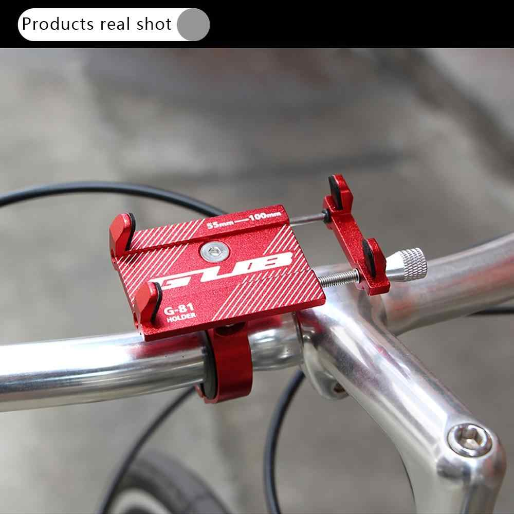 Universal Electric Scooter Adjustable Non-slip Braket Ponsel Ponsel Mount Pemegang