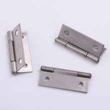 Silver Color SUS-304 Stainless Steel Antique Door Hinges For Wooden Cabinet Drawer Jewellery Box Furniture Hardware Accessories недорого