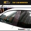 Carbon B-Pillar Door Middle Pillars Panel for Porsche Panamera