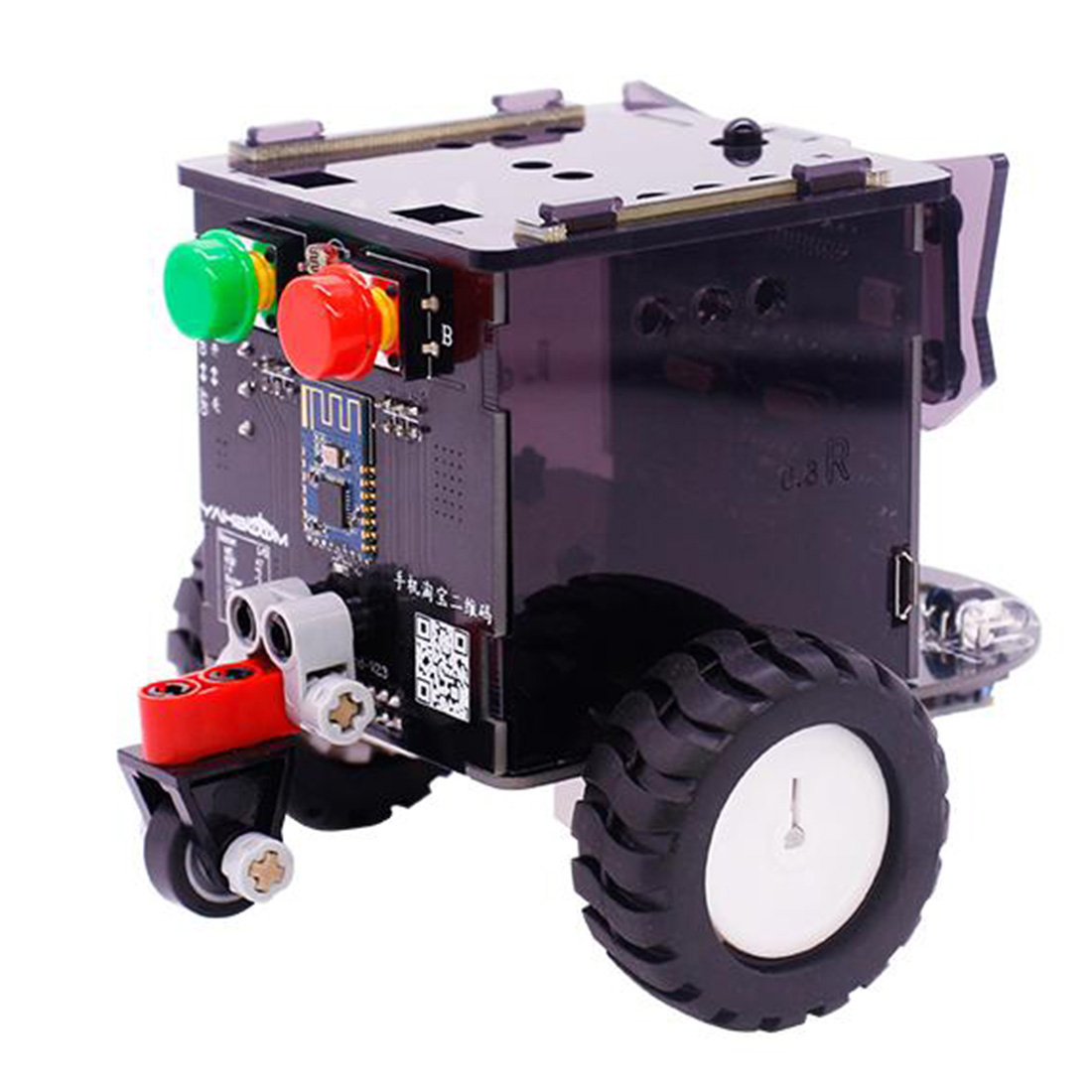 New Standard Version Omibox Scratch Programmable Robot Car Electronic DIY Stem Gift Toy Kit