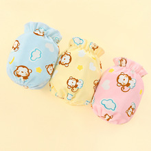 New Crystal Velvet Baby Sleeves Cartoon Spring and Autumn Childrens for 1 To 3 Years Old