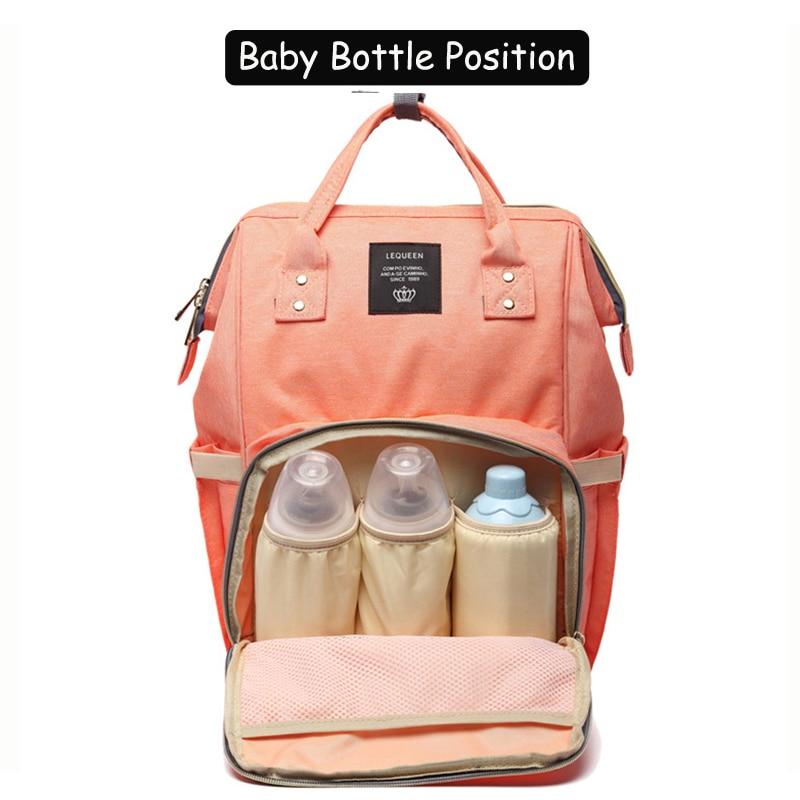 HTB1fpkKLHPpK1RjSZFFq6y5PpXaM 23 Colors Fashion Mummy Maternity Nappy Bag Large Capacity Baby Diaper Bag Travel Backpack Designer Nursing Bag for Baby Care