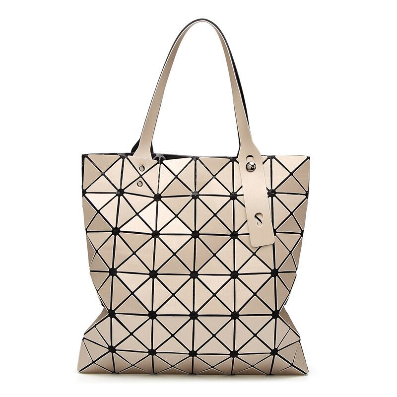 e97c940b1dbd Dropwow Fashion Diamond Women Bao Bags Geometry Matte Handbag Female ...