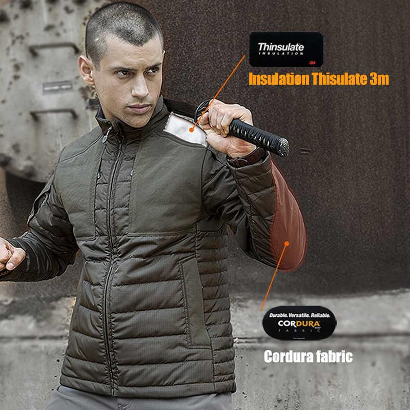 Soldado livre esportes ao ar livre acampamento caminhadas jaqueta tática, retendo o calor anti-ponto wear-resistant jacket/casaco