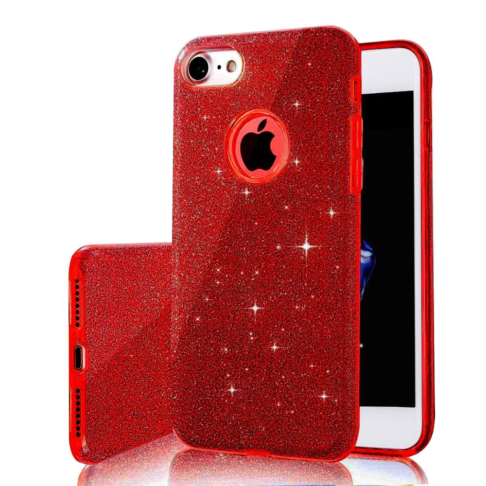 3 IN 1 Gradient Glitter Cover for font b iphone b font 6 plus 6s plus