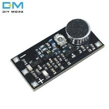 88 115 ميجا هرتز FM الارسال وحدة مع ميكروفون تيار مستمر 2 فولت 9 فولت 9mA سيارة لاسلكية FM راديو Trasmitter مجلس ل اردوينو الهاتف لتقوم بها بنفسك