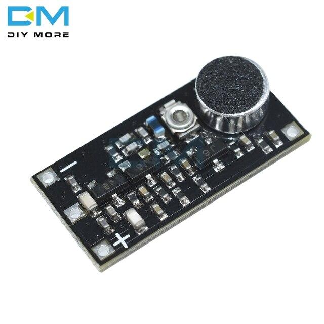88 115MHz Modulo Trasmettitore FM con Microfono DC 2V 9V 9mA Senza Fili Dellautomobile FM Radio Trasmettitore per Arduino trasporto libero Del Telefono FAI DA TE