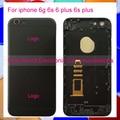 Для Iphone 6 6G 6 S 6 Плюс 6 S Plus Телефон Новое Шасси ближний Металлический Каркас Сплава Корпус Задняя Крышка Батарейного Отсека Случае Код Отслеживания